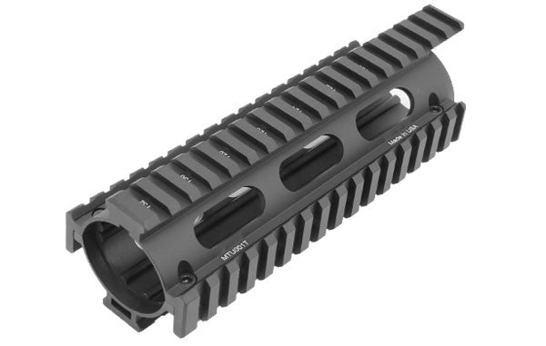 UTG PRO M4/AR15 Car Length Drop-in Quad Rail with Extension
