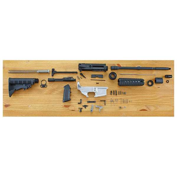"Complete AR-15 16"" Build Kit with 80 percent Lower"