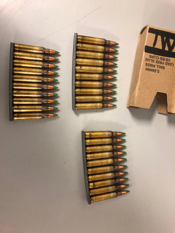 Lake City M855 Green Tip Surplus Ammo 840 Round Cans