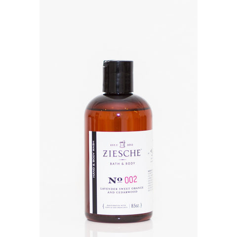 Ziesche - 002 Lavender, Sweet Orange and Cedarwood Hand & Body Wash