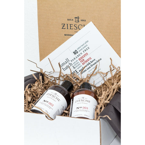 003 Rosewood, Palmrosa and Geranium Gift Set