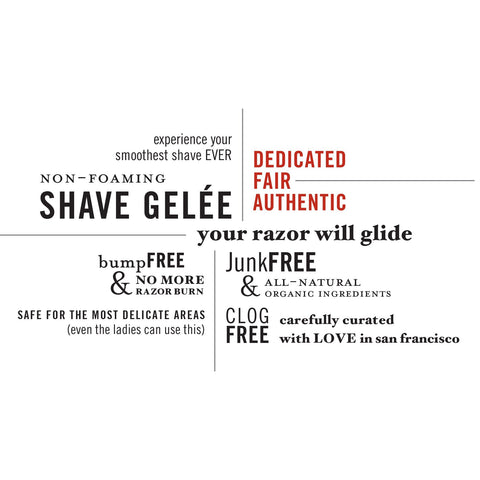 Shave Gelée | Non-foaming, gentle, all-natural and paraben-free | Ziesche Modern Apothecary - ZIESCHE Modern Apothecary  - 2