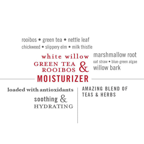 Face Moisturizer | White Willow, Green Tea, Rooibos | Organic and paraben-free - ZIESCHE Modern Apothecary  - 2