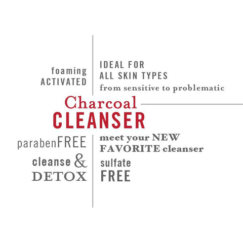 Activated Charcoal Face Wash | Natural, Clarifying, Detoxifying And Paraben - Free - ZIESCHE Modern Apothecary  - 2