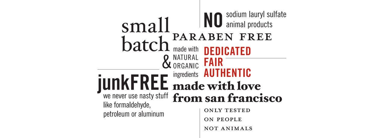 Ziesche natural beauty products are organic and paraben-free. Made in the USA