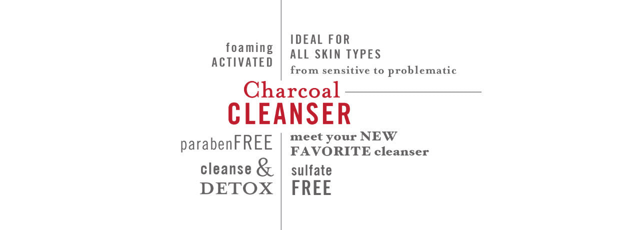 Ziesche charcoal cleanser is all-natural, paraben-free, great for all skin types.
