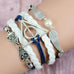 Blue Deathly Hallows Bracelet - Florence Scovel - 2