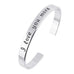 18k Gold Plated - I Love You More Bangle - Florence Scovel - 1