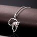 Africa Elephant Necklace