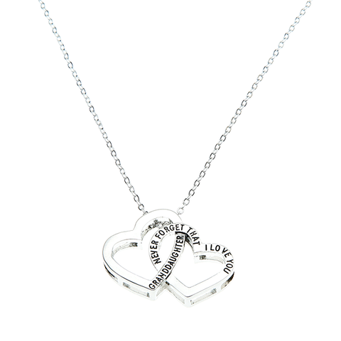 Never Forget That I Love You Pendant - Granddaughter