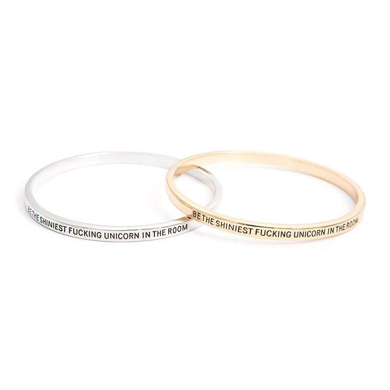 Be The Shiniest Unicorn In The Room Bangle - Florence Scovel - 1