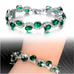 Green Emerald Exquisite Bracelet - Florence Scovel - 3
