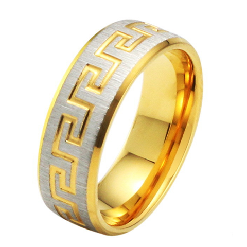 Golden Sunrise Men's Ring - Florence Scovel