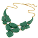 Bold Stone Statement Necklace - Florence Scovel - 3