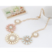 Floral Classic Statement Necklace - Florence Scovel - 3