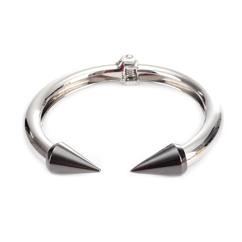 Silver Love Arrow Bangle - Florence Scovel