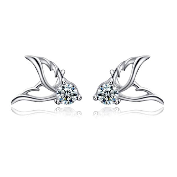 Angel Papillon Stud Earrings - Florence Scovel