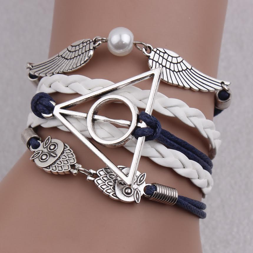 Blue Deathly Hallows Bracelet - Florence Scovel - 1