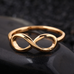 18k Gold Plated Infinity Ring - Florence Scovel - 2