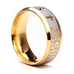 18k Silver Gold Plated Jesus Ring - Florence Scovel - 4