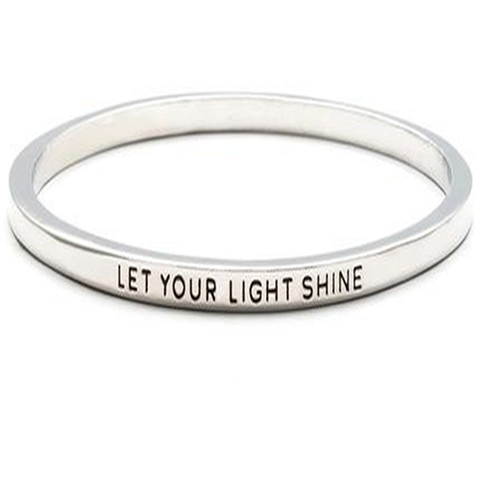 Let Your Light Shine Bangle - Florence Scovel - 1