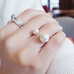 18K Pearl Ring - Florence Scovel - 1