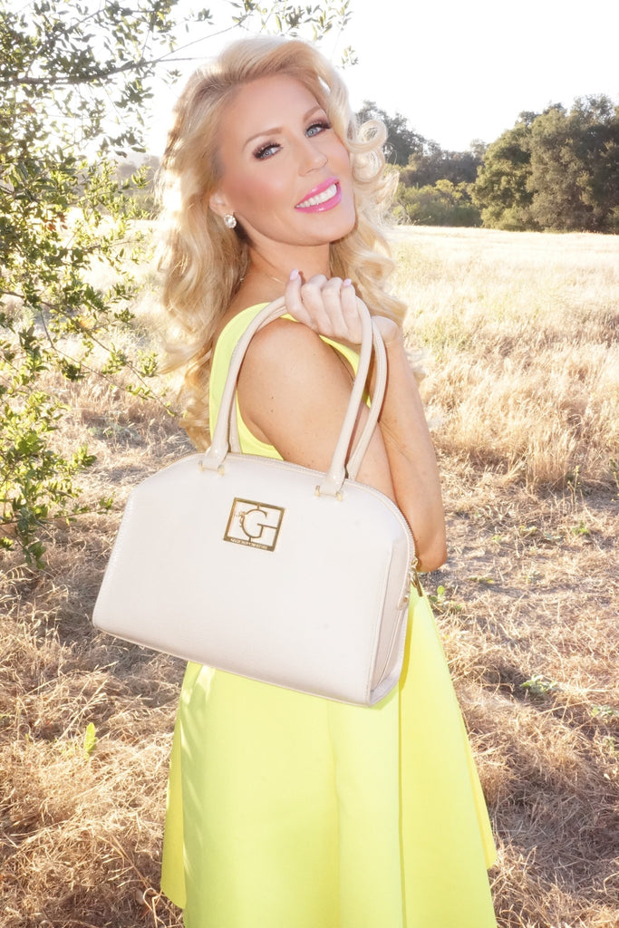 """Kristine"" Patent Leather Handbag"