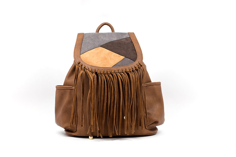 Sierra Fringed Backpack by Gretchen Christine