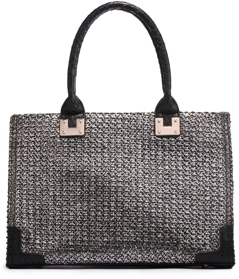 Midday Getaway Woven Tote