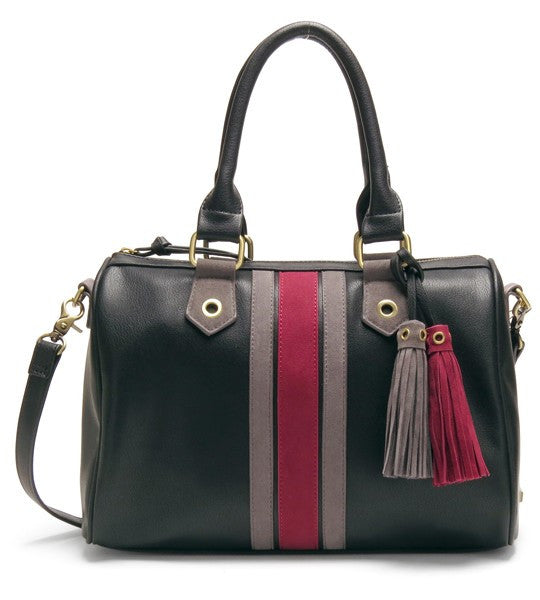 Lola Striped Doctor Satchel by Gretchen Christine