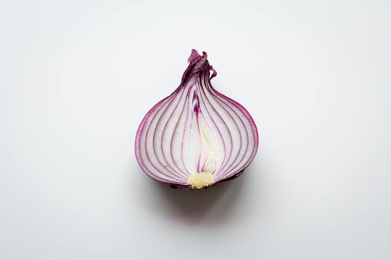 Red onion oil for hair fall control