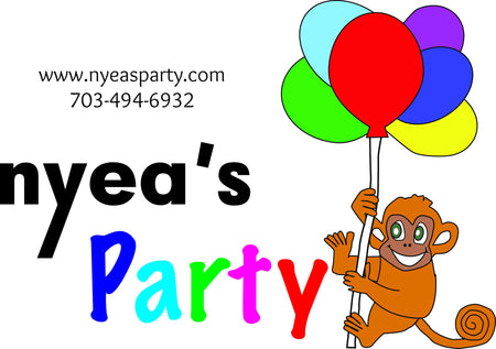 Nyeasparty Balloon Decorator
