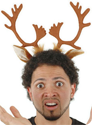 Christmas Reindeer Antlers Headband - nyea's Party Store