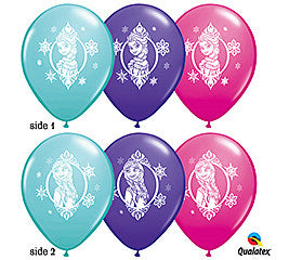 Disney Frozen Elsa Latex Balloons Assortment - nyea's Party Store