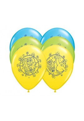"12"" SpongeBob Squarepants Latex Balloons"