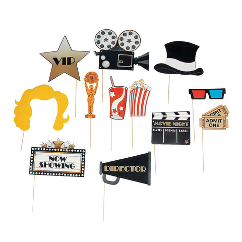 Hollywood Movie Stick Props - nyea's Party Store
