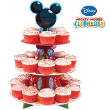 Disney Mickey Mouse Clubhouse Cupcake Stand - nyea's Party Store