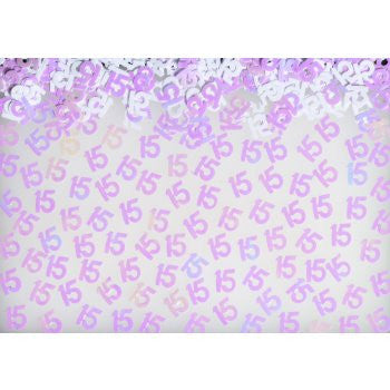 #15 Confetti - Mis Quince - Nyea's Party Store