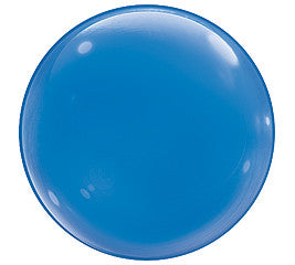 Dark Blue 15 inches Bubble Balloons - nyea's Party Store