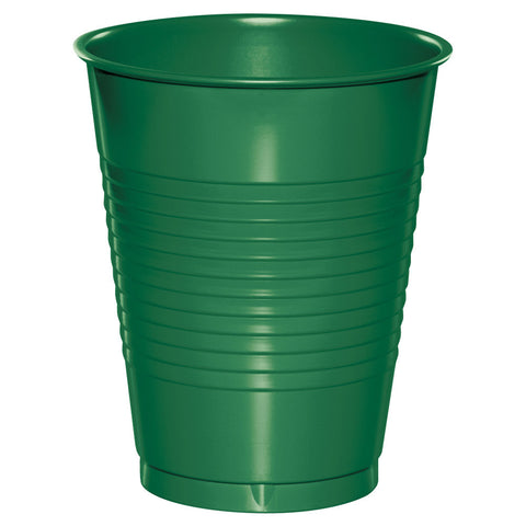 Green 16 oz Plastic Cups - nyea's Party Store