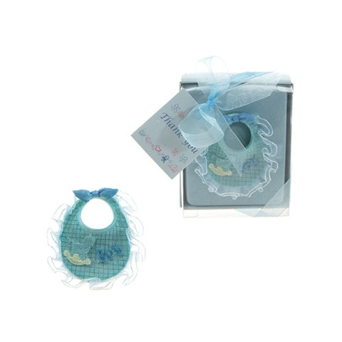 Baby Bib Poly Resin - Blue - nyea's Party Store