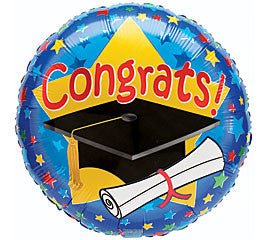 Graduation Foil Balloon - nyea's Party Store