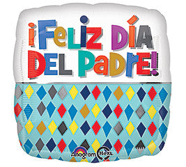 17 inches Spanish Feliz Padre - Nyea's Party Store