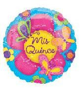 18 inches Mis Quince Butterflies Foil Balloon - Nyea's Party Store