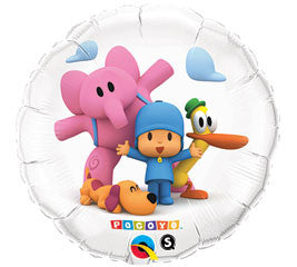 18 inches Pocoyo Foil Balloon - Nyea's Party Store