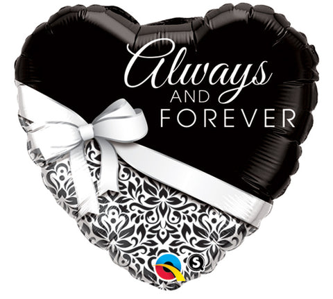 "18"" Packaged Always and Forever Mylar Balloon - Nyea's Party Store"