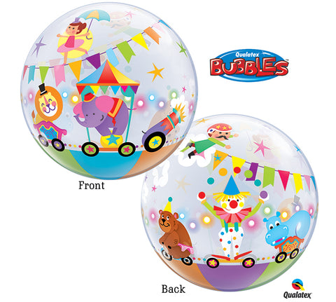 "22""PKG CIRCUS BUBBLE Balloon"