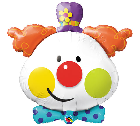 "36""PKG  CUTE CLOWN Foil Balloon"