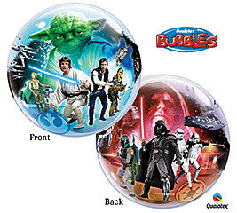 22 inches Star Wars Bubble Balloon - Nyea's Party Store