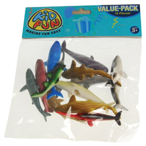 Mini Sharks and Whales Favor Pack